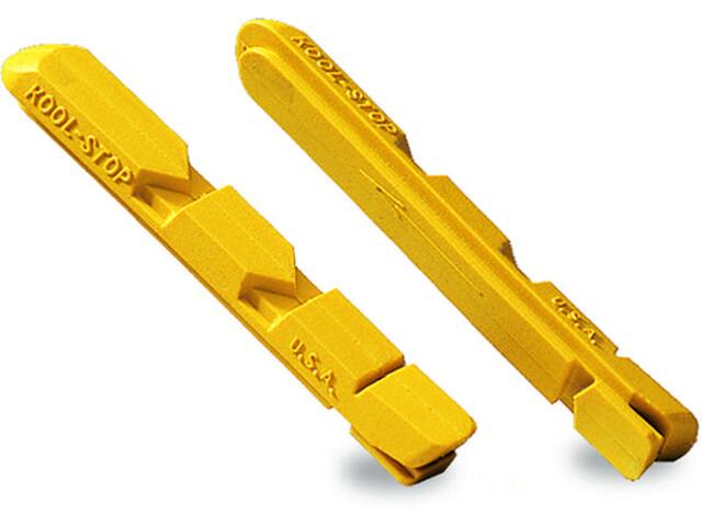 Kool Stop Linear Pull Jarrupalat V-Type , keltainen